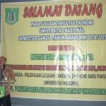 PEMBERIAN PEMBEKALAN OLEH MOTIVATOR BPK.DR.RAY AKBAR,MA